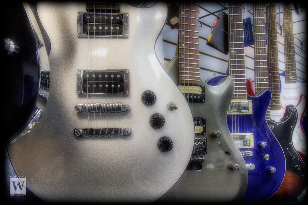 Double pickup guitar lineup