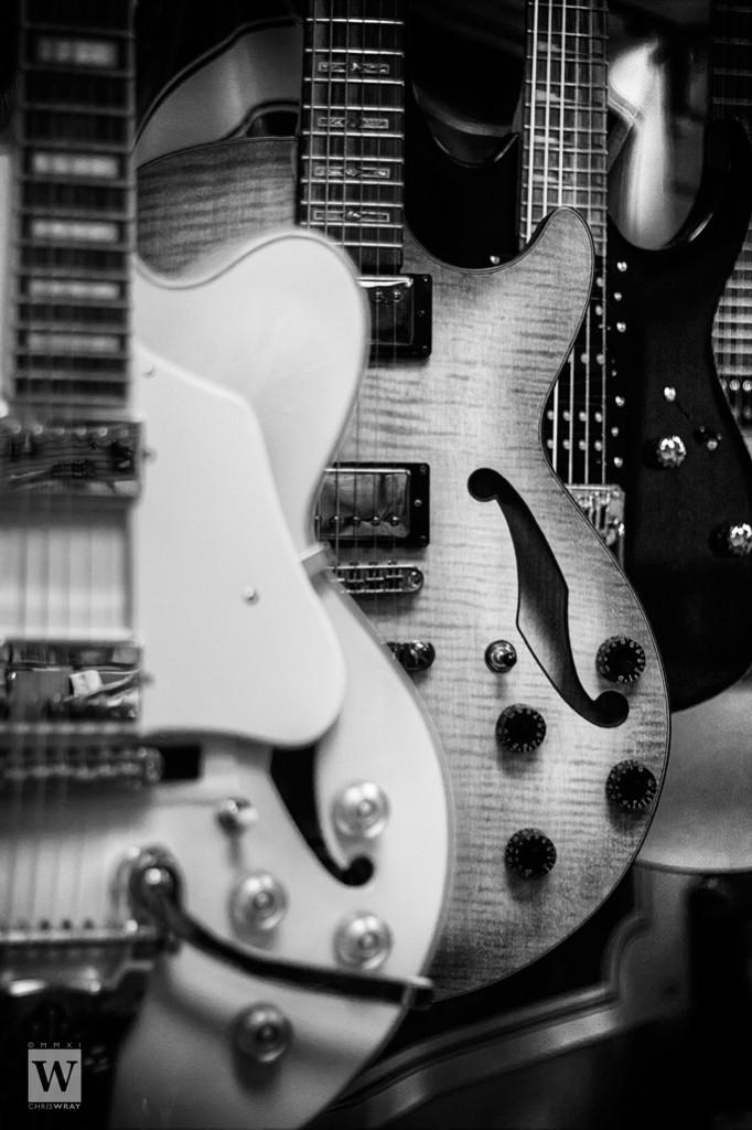 Electro-acoustic | monochrome portrait